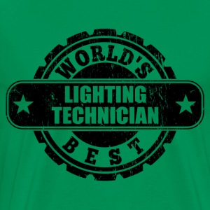 Best Lighting Technician T-Shirts - Men's Premium T-Shirt