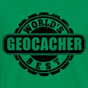 World's Best Geocacher T-Shirts - Men's Premium T-Shirt