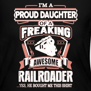 Railroader Daughter - Women's Long Sleeve Jersey T-Shirt