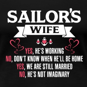 Sailor's Wife Shirt - Women's Premium T-Shirt