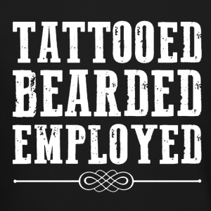 Tattooed Bearded Employed - Crewneck Sweatshirt