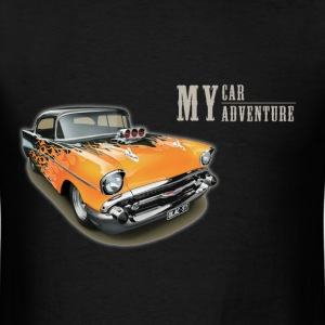 My Retro Car My Adventure - Men's T-Shirt