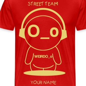 Street Team Shirt.png T-Shirts - Men's Premium T-Shirt