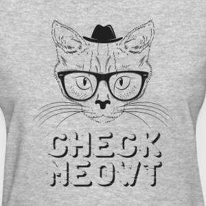 check meowt - Women's T-Shirt
