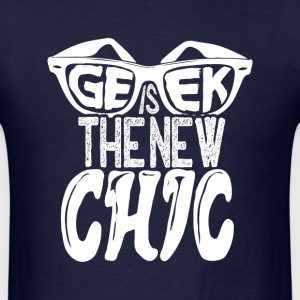 geek is the new chic - Men's T-Shirt