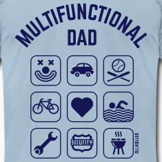 Multifunctional Dad (9 Icons) T-Shirts