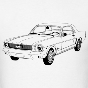 Ford Mustang Hardtop 1964 - Men's T-Shirt