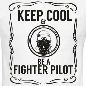 Keep cool & Fighter Pilot T-Shirts - Men's Ringer T-Shirt