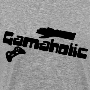Gameaholic Shirt - Men's Premium T-Shirt
