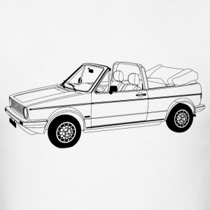 Golf Mk1 Convertible - Men's T-Shirt