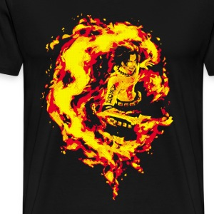 Fire Fist Ace - Men's Premium T-Shirt