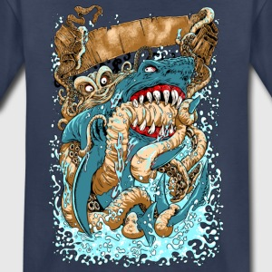 OCTOPUS v SHARK KID PREMIUM T-SHIRT - Kids' Premium T-Shirt