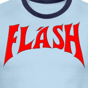 Flash Gordon 2-Sided Movie Accurate - Men's Ringer T-Shirt