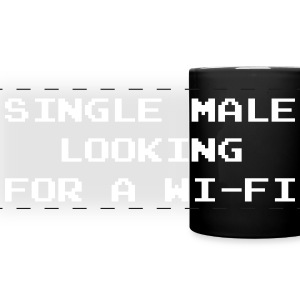 Single Male Looking for a Wi-Fi Mugs & Drinkware - Full Color Panoramic Mug