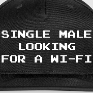 Single Male Looking for a Wi-Fi Sportswear - Snap-back Baseball Cap