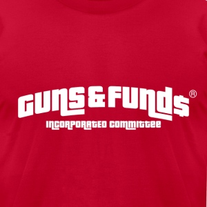 Guns & Funds T-Shirts - Men's T-Shirt by American Apparel