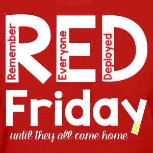 RED Friday T-Shirt - Women's T-Shirt