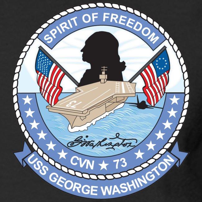 USS GEORGE WASHINGTON 1997-98 CRUISE SHIRT - LONG SLEEVE