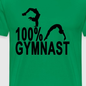 100_gymnast - Men's Premium T-Shirt