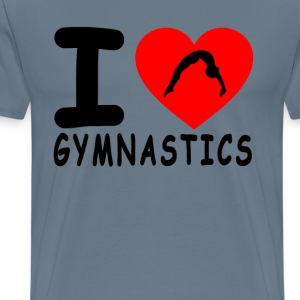i_love_gymnastics - Men's Premium T-Shirt