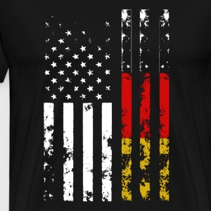 American With German Root - Men's Premium T-Shirt