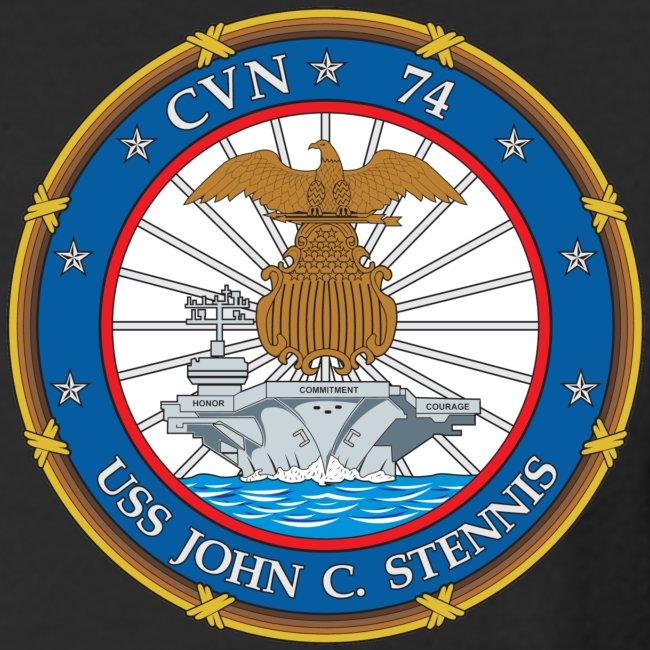 USS JOHN C STENNIS 2009 CRUISE SHIRT - LONG SLEEVE