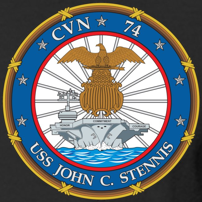 USS JOHN C STENNIS 2011-12 CRUISE SHIRT - LONG SLEEVE