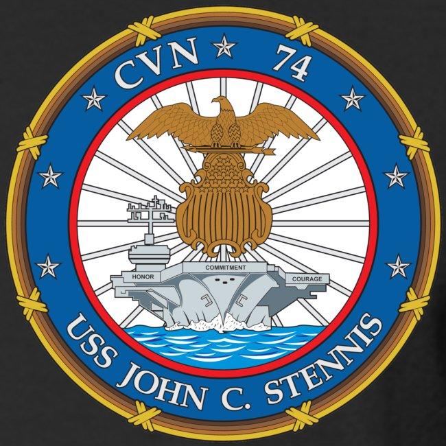 USS JOHN C STENNIS 2000 CRUISE SHIRT - LONG SLEEVE