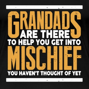 GRANDAD EQUALS MISCHIEF - Women's Premium T-Shirt