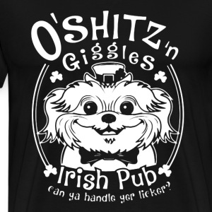 Irish Pud  - Men's Premium T-Shirt