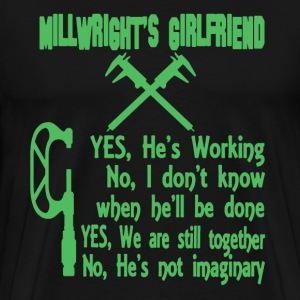 Millwright's Girlfriend - Men's Premium T-Shirt
