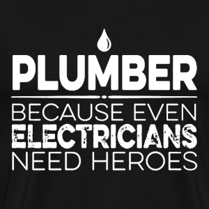 Plumber Hero - Men's Premium T-Shirt