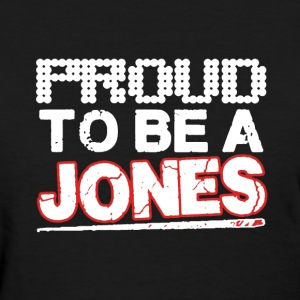 Proud To Be Jones - Women's T-Shirt