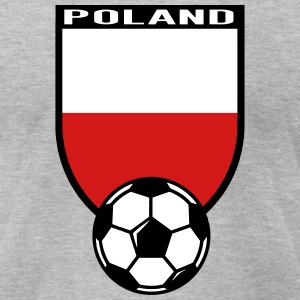 European Football Championship 2016 Poland T-Shirts - Men's T-Shirt by American Apparel