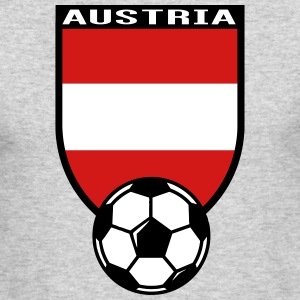European Football Championship 2016 Austria Long Sleeve Shirts - Men's Long Sleeve T-Shirt by Next Level