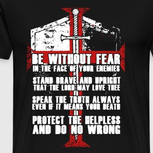 THE TEMPLAR CODE - Men's Premium T-Shirt