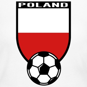 European Football Championship 2016 Poland Long Sleeve Shirts - Women's Long Sleeve Jersey T-Shirt
