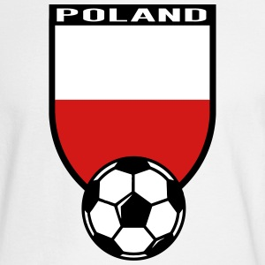 European Football Championship 2016 Poland Long Sleeve Shirts - Men's Long Sleeve T-Shirt
