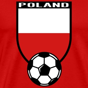 European Football Championship 2016 Poland T-Shirts - Men's Premium T-Shirt