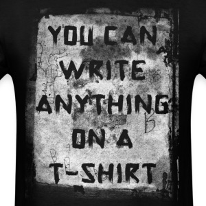 you can write manji.png T-Shirts - Men's T-Shirt