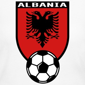 European Football Championship 2016 Albania Long Sleeve Shirts - Women's Long Sleeve Jersey T-Shirt