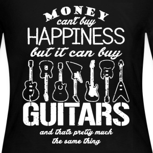 Guitars  Happiness - Women's Long Sleeve Jersey T-Shirt