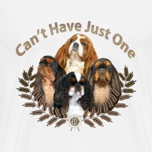English Toy Spaniel  Can't Have Just One - Men's Premium T-Shirt