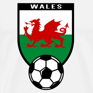European Football Championship 2016 Wales T-Shirts - Men's Premium T-Shirt