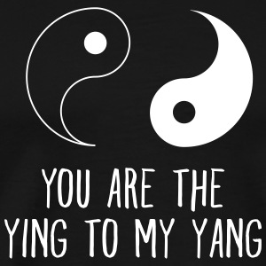 You Are The Ying To My Yang T-Shirts - Men's Premium T-Shirt