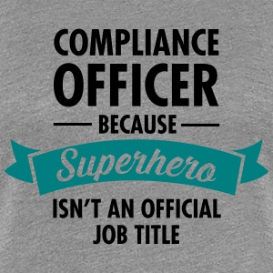 Compliance Office - Superhero Women's T-Shirts - Women's Premium T-Shirt