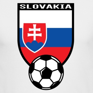 European Football Championship 2016 Slovakia Long Sleeve Shirts - Men's Long Sleeve T-Shirt by Next Level