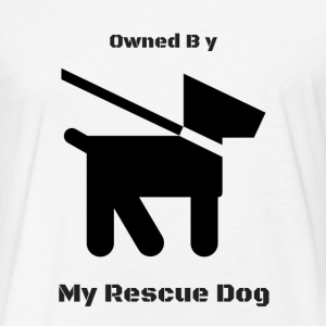 Owned by Rescue T-Shirts - Fitted Cotton/Poly T-Shirt by Next Level