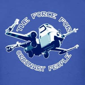 X-wing fighter ordinary people - T-shirt pour hommes