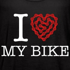 I Love My Bike Tanks